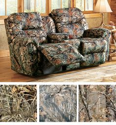 Ikea Sofa Bed This camo sofa will add just the right outdoorsy touch to your room A little bit of camo ud Pinterest Chairs Wouldn ut and Friends