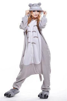 abcf3d77f7 Anime Cosplay Totoro Couples Homewear Costume Adults Pyjamas