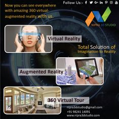 The Choice your augmented reality developers come in the Life from Nipra3dStudio. Advancing in the innovation to Augmented Reality Company for batter environment at an affordable rate in Ahmedabad.