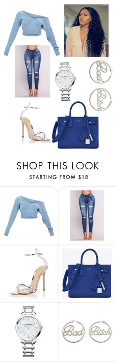 """""""Untitled #423"""" by askariwilson on Polyvore featuring Yves Saint Laurent, Baume & Mercier and me you"""