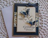 Handmade Greeting Card: Butterfly Birthday Wishes