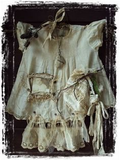 "Millie's Dress ""Nature Journey"" Altered ART"