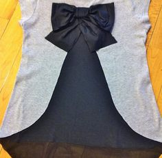 DIY Bow On The Back