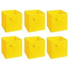Rusee Foldable Cloth Storage Cube Basket Bins Organizer C...