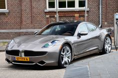 Fisker Karma... Saw one on the road and in love! Next car!