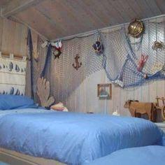 décoration de chambre d'enfant à thème : décor marin