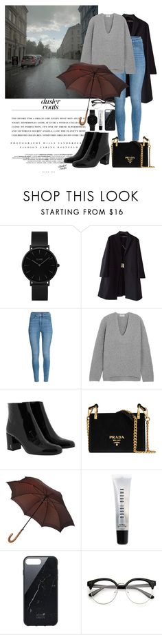 """""""Autumn outfit #2"""" by mayfl0wer21 ❤ liked on Polyvore featuring CLUSE, Kerr®, Rochas, Acne Studios, Yves Saint Laurent, Prada, Louis Vuitton, Bobbi Brown Cosmetics, Native Union and Fall"""