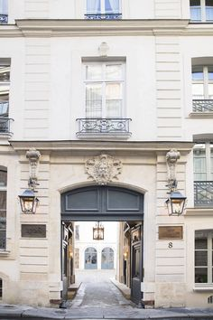 When in Paris: Architect-designer Michele Bönan's first Paris hotel. The recently opened Marquis Faubourg Saint-Honoré, consisting of 15 luxury  suites, is housed in a historic 1730 mansion that once  belonged to the Marquis de Lafayette. While infusing the structure with traditional luxuries, including Carrara marble bathrooms and Louis XVI mantels, the iconoclastic Bönan also introduced such playful modern touches as chartreuse satin draperies and sleek, midcentury-inspired lamps.