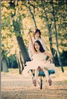 We Got Married (Lettuce Couple) - Hwangbo and Kim Hyun-joong Photoshoot Themes, Pre Wedding Photoshoot, Wedding Shoot, Wedding Pictures, Engagement Pictures, We Got Married Couples, We Get Married, Wgm Couples, Kim Hyun