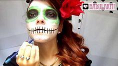 Maquiagem de Caveira Mexicana - BadulaDicas!