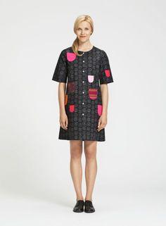 Kihlatasku (tmavě šedá, šedá) | Oblečení, dámské saty a sukně | Marimekko