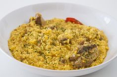 Fried Rice, Risotto, Fries, Ethnic Recipes, Food, Creamy Rice, Recipes With Rice, Dishes, Delicious Food