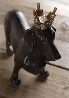 Love this so much!!! Dachshund With Crown $16