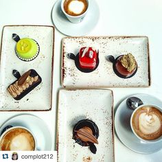 thanks for stopping by my shop and enjoy my desserts @complot212 with @repostapp. ・・・ Thank God is Friday y podemos escapar de la dieta con @bachour1234 #friday #merienda #chocolate #pastries #sweet #tgif #love #brickell #complotlifestyle #thelatinaffair #bachour