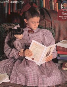 Spring 1995 | 10 American Girl Doll Catalogs From YourPast. Omg stahp