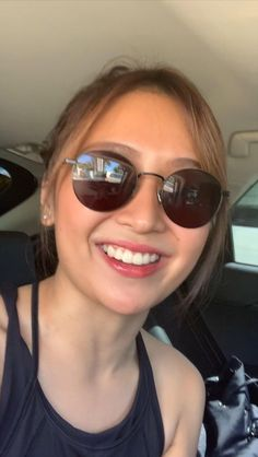 Filipina Girls, Teen Celebrities, Daniel Padilla, Kathryn Bernardo, Celebrity Stars, Jadine, Girl Crushes, Sunglasses Women, Chic