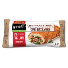 Gardein Crispy Chick'n With Veggies Vegan Pocket Meal - 150g