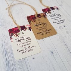thank you wedding favors tags succulent wedding favors tags wedding favors tags diy openers tags Wedding Favour Kits, Honey Wedding Favors, Homemade Wedding Favors, Handmade Wedding Favours, Wedding Gift Tags, Wedding Gifts For Guests, Wedding Labels, Personalized Wedding Favors, Diy Wedding Stationery