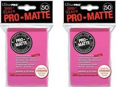 100 Ultra Pro Bright Pink PROMATTE Deck Protectors Sleeves Standard MTG Colors >>> Read more  at the image link.Note:It is affiliate link to Amazon.