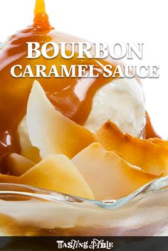 Learn to make a bourbon-spiked caramel sauce with a nice, salty finish. It's the perfect way to punch up a sundae.