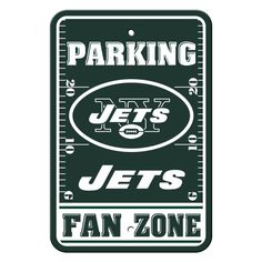 NFL New York Jets Plastic Parking Signs *** Want to know more, click on the image.
