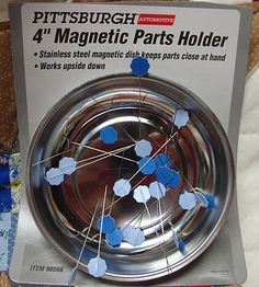 Much stronger than magnetized sewing pin bowls!