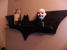 Batman Knicknack shelf!   http://www.etsy.com/listing/93997237/the-batshelf?ref=sc_1&sref=sr_e1e61eba3e4c9f5df55a117a407bcac9c1fda5aec56dbfd0adb43c7fda5d5925_1330960298_14194946_geek