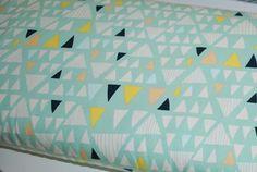 Jersey bio Art Gallery triangles - par 50 cm