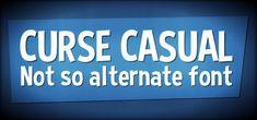 Curse Casual Font | dafont.com