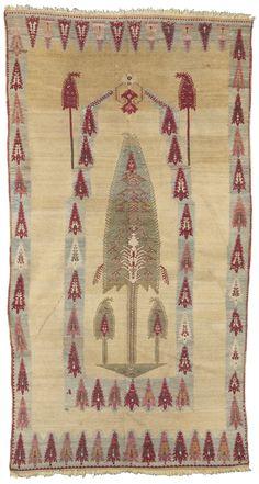 Turkish Kirsehir prayer rug, mid-19th century