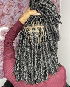 Faux Locs Hairstyles, Twist Braid Hairstyles, Braided Hairstyles For Black Women, Baddie Hairstyles, African Braids Hairstyles, Braids For Black Hair, Black Hairstyles, Protective Hairstyles, Girl Hairstyles