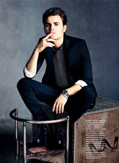 Paul Wesley - EXPRESS Fall 2012 Ad Campaign