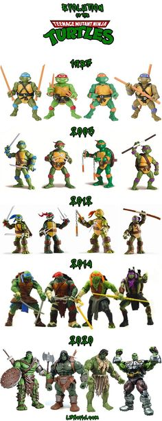 The Teenage Mutant Ninja Turtles have gone through a lot of changes over the years but their latest incarnation is alienating some fans. ACToys has posted Ninja Turtles Movie, Ninja Turtle Toys, Teenage Mutant Ninja Turtles, Retro Toys, Vintage Toys, Tmnt, Geek, Cartoons, Travis Bryant