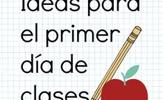 Maravillosas ideas para el primer día de clases – Ideas para la clase All About Me Poster, First Day Activities, English Games, Spanish Class, Learn English, Teacher Resources, Classroom, Teaching, Education
