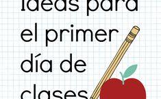 Maravillosas ideas para el primer día de clases – Ideas para la clase All About Me Poster, English Games, Spanish Class, Teacher Resources, Teaching, Education, Math, Cool Stuff, Ideas Para