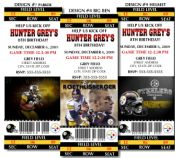 Pittsburgh steelers personalized party invitation 20 digital file 8 nfl pittsburgh steelers football birthday party ticket invitations but you can customize for a baby filmwisefo Gallery