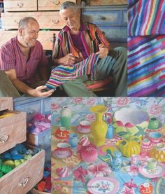 Knitting with The Color Guys: Amazon.co.uk: Kaffe Fassett, Brandon Mably: Books
