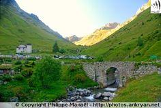 Pont de la Gaubie, Aygues-Cluses (France, Midi-Pyrénées, Hautes-Pyrénées)