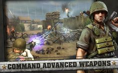 Frontline Commando D-Day APK Mod v3.0.4 +Data (Unlimited money) - Free 4 Phones | Official and Mod APK | F4P