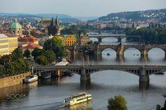 City of bridges - Prague / Czech Republic July 2013 @Gürkan Gündoğdu