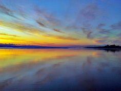 Love a good sunset. Muriwai Beach, NZ