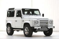dreeeeeam wheels! Land Rover Defender 90 Yachting Edition