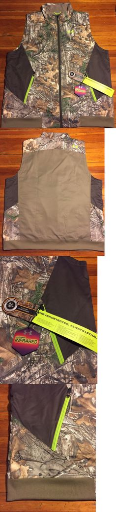 Vests 178080: Nwt!! Under Armour Mens Woods Camo Scent Control Hunting Outdoor Vest Sz 3Xl -> BUY IT NOW ONLY: $49.49 on eBay!