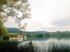 #Trekking #Sport #Autumn #Banyoles #Estany #GreyDay