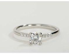 0.75 Carat Diamond Petite Diamond Engagement Ring   Recently Purchased   Blue Nile