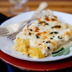 Pumpkin Manicotti « Go Bold with Butter