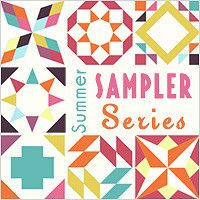 Various links to blocks--great visiting other blogs     Quilt Along with the Summer Sampler Series on Fresh Lemons Quilts