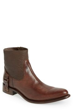 Free shipping and returns on Marco Delli 'Keith' Zip Boot (Men) at Nordstrom.com. Two-tone vachetta leather forms a Goodyear-welted, hand-burnished boot with vintage appeal.