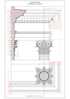 Composite Order: Entablature and Capital