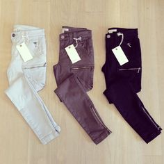 Bottoms up! Our brand new Park Skinny jeans just landed in Joie boutiques! We're in love.